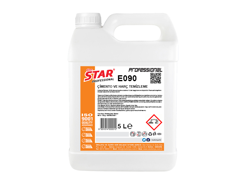 CEMENT AND GROUTING CLEANING LIQUID 5LT