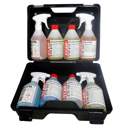 STAR AUTO CLEANING AND CARE SET