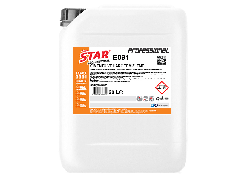 CEMENT AND GROUTING CLEANING LIQUID 20 LT