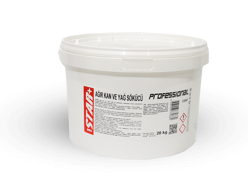HARD BLOOD AND OIL REMOVER 20KG