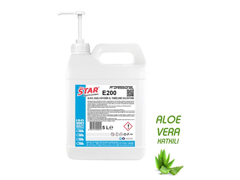 Antibacterial Hand Sanitizer Gel (Aloe Vera) 5 L