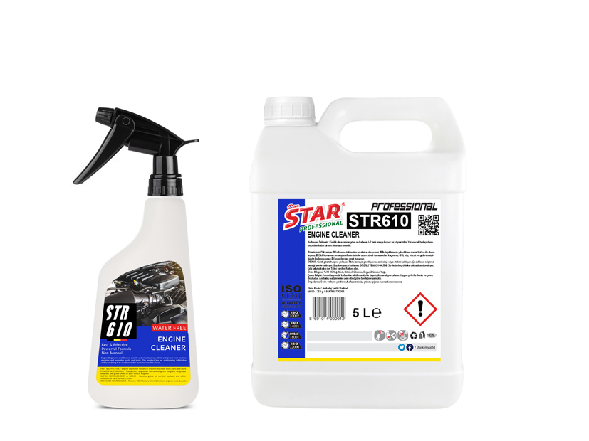 AUTO ENGINE OIL CLEANER SPRAY 5 L