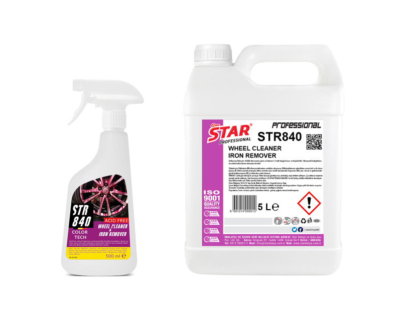 WHEEL AND IRON DUST CLEANER 5 L