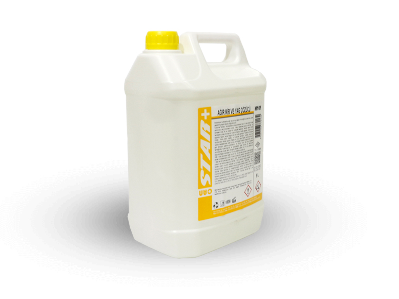 5 KG. LIQUID DETERGENT FOR THICK DIRTS AND OILS